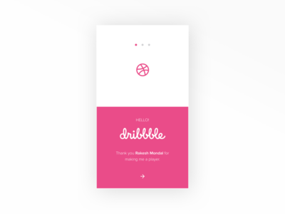 Hello! Dribbble design onboarding firstshot debut dribbble