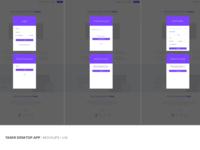 Taskr Desktop App - Signup Flow
