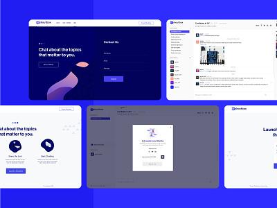 Urshoutbox Web Application user interface user experience webapp