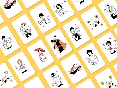 Nihongo Master Illustrations illustrations