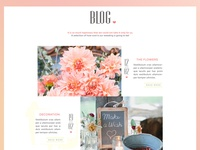 One page wedding website