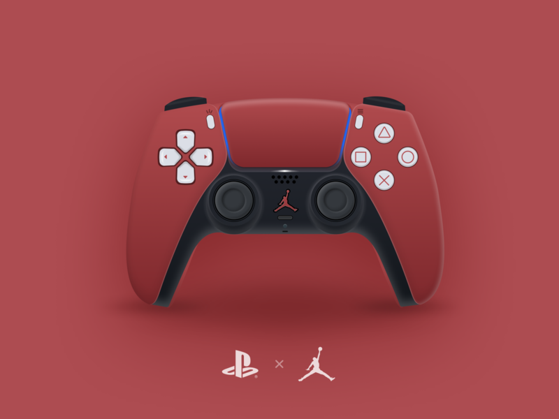 I Had To Do This! *Made w/Figma* gaming vector design jordan nike illustration figma sony playstation