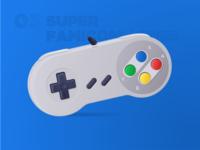 Classic Controllers 04 - Super Famicom a.k.a. SNES