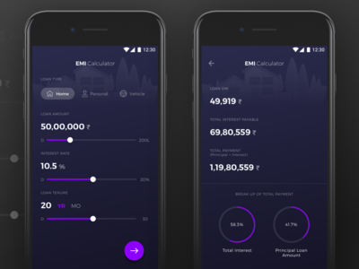 Daily UI - 004 EMI Calculator