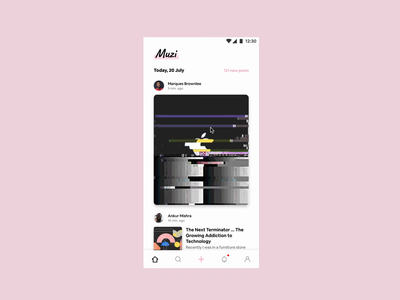 Figma's got GIF support! feed social figma prototyping ux ui design
