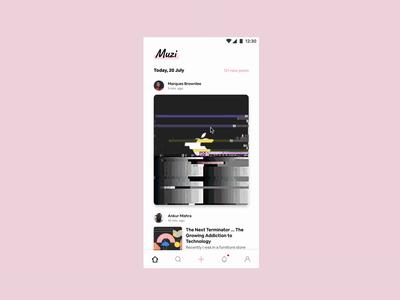 Social App Feed (Figma Prototype)