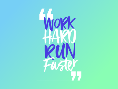 Work Hard Run Faster fitness club telegram signal snapchat linkedin twitter facebook fitness