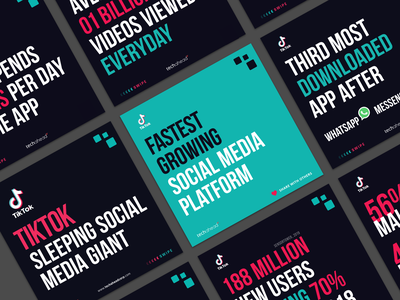 TikTok Sleeping Social Media Giant linkedin carousel snapchat facebook whatsapp messnger tiktok