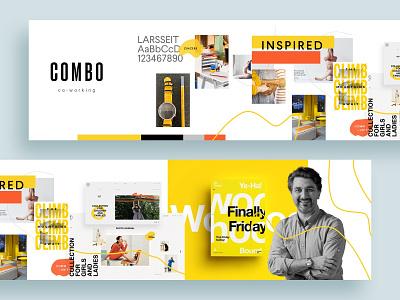 Combo Stylescape moodboard brand identity branding design branding styles stylescaping