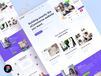 Woocommerce Redesign - Freebie friday freebie friday freebies freebie free woocommerce violet blue colorfull design uxdesign uidesign ux ui