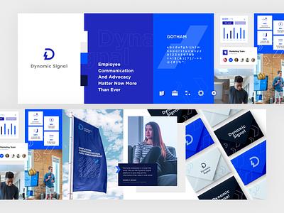 Stylescape brand exploration startup saas stylescape branding blue uidesign ui