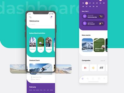 Social App - dashboard style typography branding vector logo colors design app ux ui