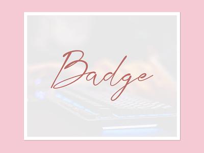CUSTOM BADGE badge emotes twitch streamer 2d