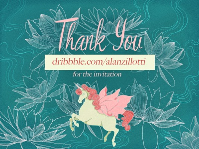 Thank you for the Dribbble invitation horse illustration art illustration @design @alanzilloti