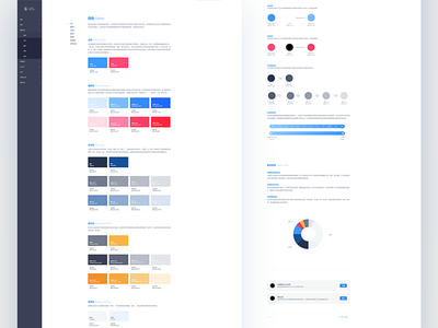 Design System-Color chinese language styleguide color palette palette design system color app