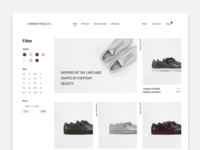 Common Project product page