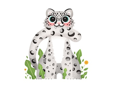 Snow Leopard Made With Care