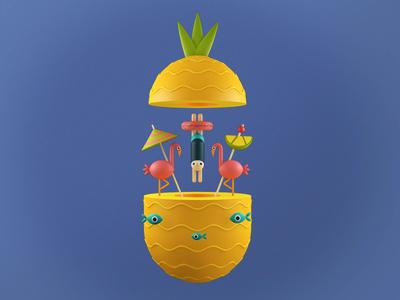 Pineapple juice!