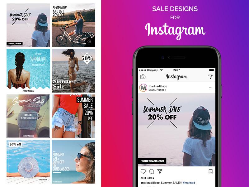 SALE Designs for Instagram – FREE