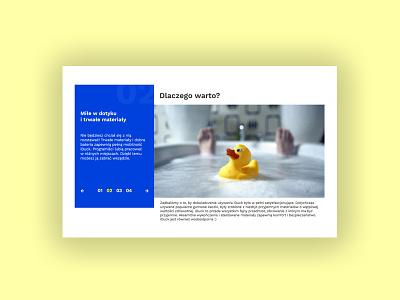 iDuck 2/3 - Slider webdesign web ux uidesign ui design