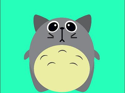 Totoro design illustration cartoon