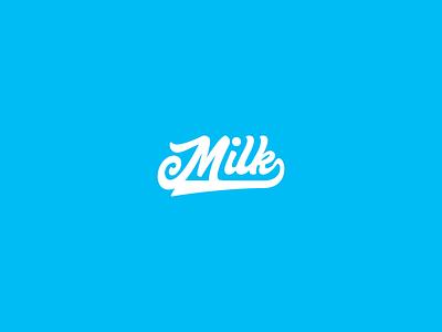 Milk - Logotype #dailylogochallenge icon minimal logotype logo designer design branding brand identity brand design brand