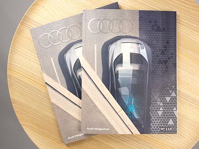 Audi Magazine 114 automotive design automotive audi photographer graphic design art direction magazine cover magazine design creative direction brand identity design brand design