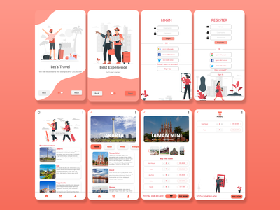 Travel web app ux ui design travel app travel