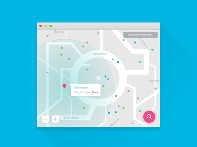 Daily UI #020 app mac dribbble material sketch dailyui location tracker