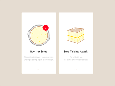 Daily UI #023 cheese martabak walkthrough dailyui sketch onboarding