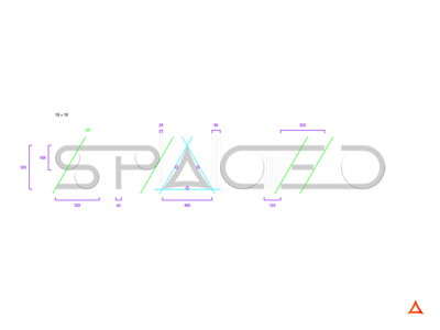 SPACED / Process construction brand logo spacedchallenge