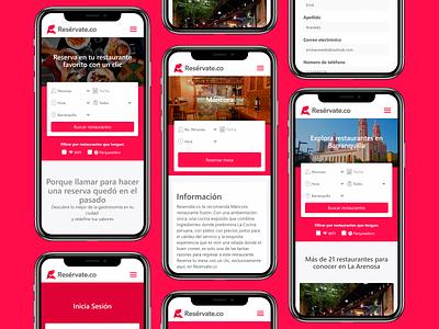 Responsive design web design app color ux ui design