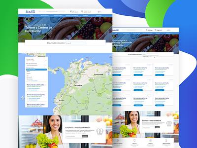 Web Design flat web ux ui clean app