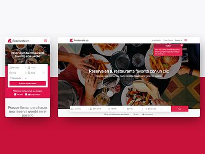 Responsive Design product design website web uiux minimal layout landing page flat design color clean