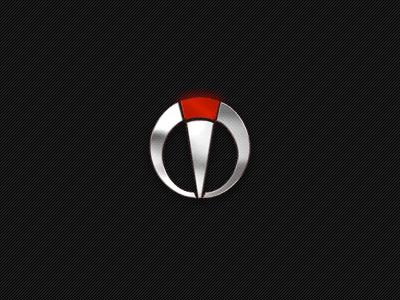 Insight Logo logotype metal brand insight logo