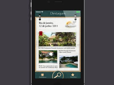 Back in time: Skeuomorphism texture house ux ui app iphone application ios skeuomorphism