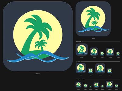 Cities App Icon ui app ipad ios icon