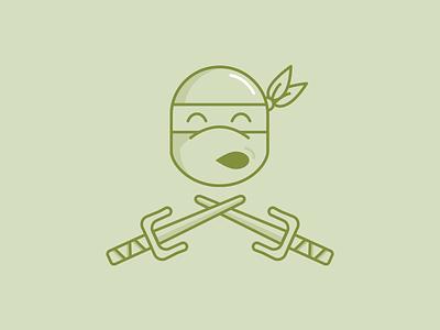 Raphael raph tmnt ninja turtles illustration icon sai raphael cute ninja