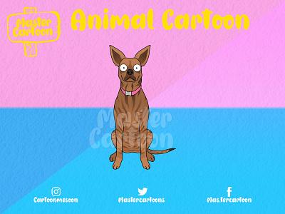 CUSTOM ANIMAL CARTOON design cute funny illustration cartoon
