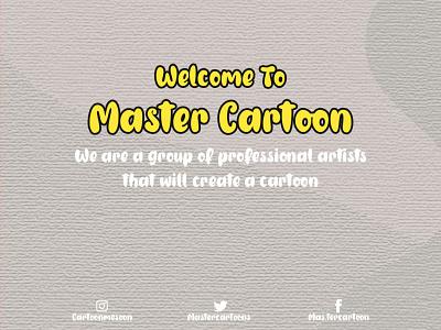 INTRODUCE MASTER CARTOON branding ui logo animation cartoonworld design cute funny illustration cartoon