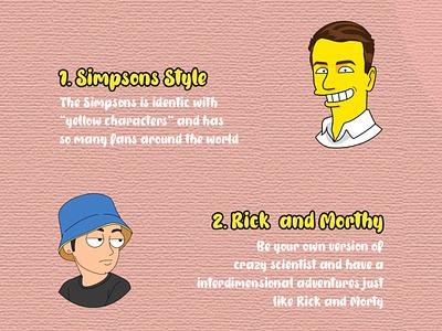 CHOOSE YOUR STYLE ui branding logo animation cartoonworld design cute funny illustration cartoon