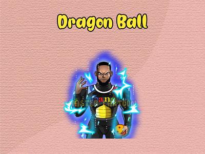 CUSTOME CRAGON BALL STYLE affordable custome your own dragon ball branding animation cartoonworld design cute funny illustration cartoon
