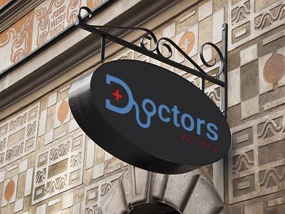Doctors gallery logo vector logo branding design