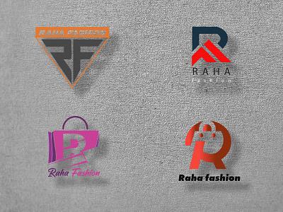 Raha fashion logo (concept design) branding logo design