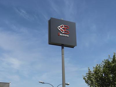 Electronic Logo design brand identity logos logo design logo