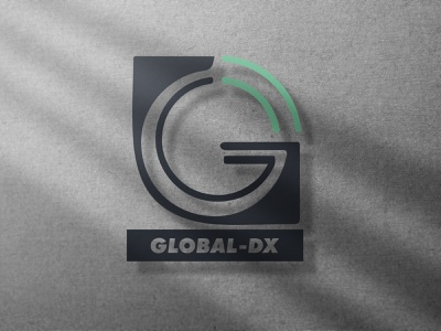 Global DX logo logotype logodesign branding logo
