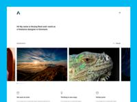 Wordpress portfolio design