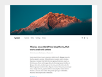 Typogra - Free WordPress blog theme