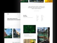 Portfolio WP theme