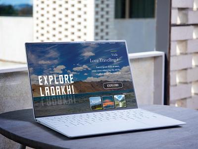 Daily UI :: 003 website landing page landingpage ui macbook ux uiux uidesign design dailyui adobexd